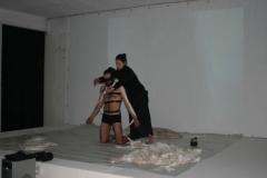 videoperformanceactionartcasoriamuseumjanuary2006_alfredodaponteitaly