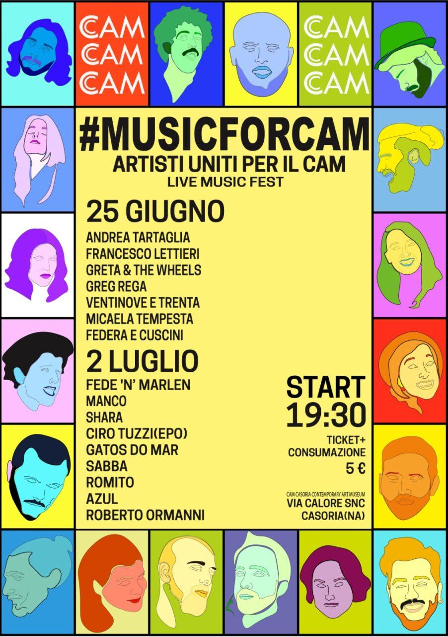 #MUSICFORCAM